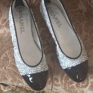 CHANEL brand new  flat ballerina shoes